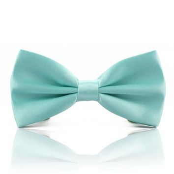 Tiffany Teal Men's Bowtie