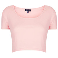 Basic Crop Tee - Jersey Tops - Clothing - Topshop USA