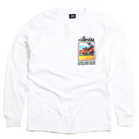 Love And Hate Longsleeve T-Shirt White