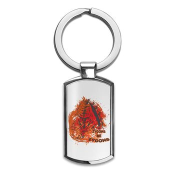 Zygons Be Zygons Premium Stainless Steel Key Ring| Enjoy A Unique  & Personalized Key Hanger To Carry Your Keys W/ Style| Custom Quality Prints| Household Souvenirs By Styleart