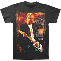 Nirvana Men's  You Know You're Right T-shirt Black