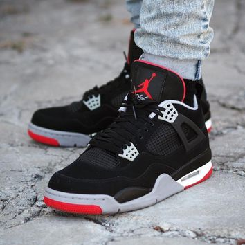 "Air Jordan 4 Retro ""Bred"" 2019 - Best Deal Online"