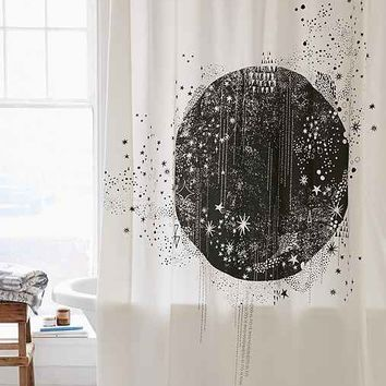 Magical Thinking La Luna Shower Curtain