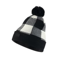 Nike SB Buffalo Plaid Pom Knit Hat (Cream)