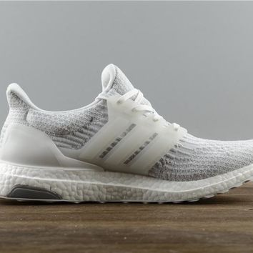 [FREE SHIPPING] Adidas Ultra Boost 3.0 Triple White (BA8841) NMD YEEZY BOOST ZEBRA