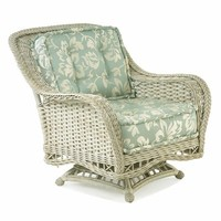 Natchez Wicker Swivel Rocker