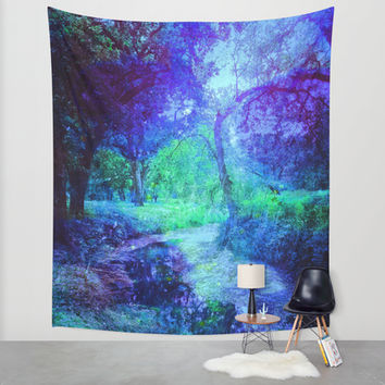 Creekbed Wall Tapestry by DuckyB (Brandi)
