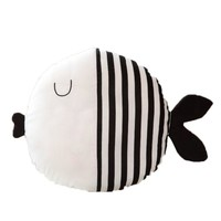 Cartoon Fish Striped Kid Cushion Pillow Toys