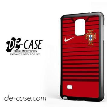 Portugal Soccer Jersey For Samsung Galaxy Note 4 Case Phone Case Gift Present YO