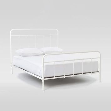 Imogene Metal Bed - Antique White