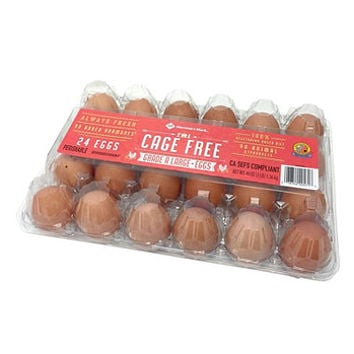 Member's Mark Cage Free Large Brown Eggs (24 ct.)