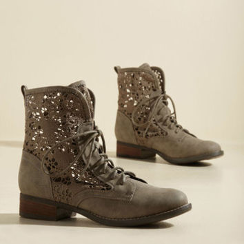 Up Crochet and Personal Boot | Mod Retro Vintage Boots | ModCloth.com