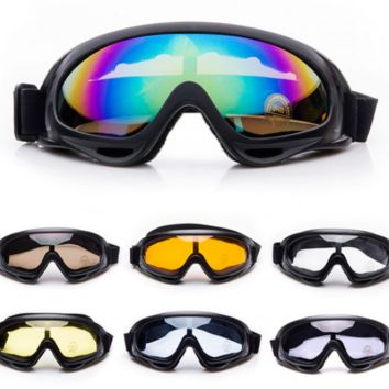 ATV Dirt Bike Motorcycle Motocross Dustproof Off Road Racing SKI Goggles Glasses