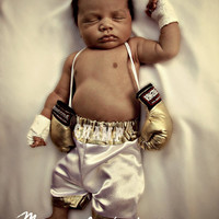 The Custom Baby Boxing Trunks