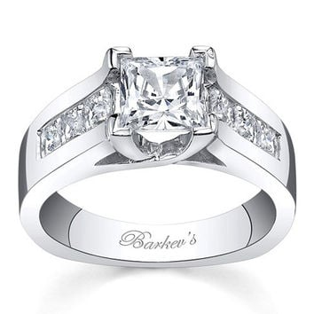Barkev's Cathedral Channel Set Diamond Engagement Ring