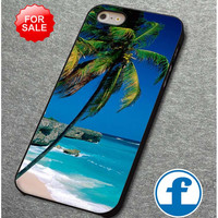 Palm Tree Beaches for iphone, ipod, samsung galaxy, HTC and Nexus Phone Case