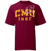 Central Michigan University Licensed T-shirt ( Maroon )