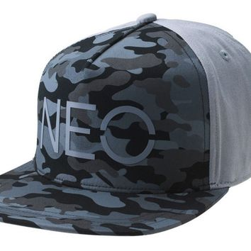 ADIDAS CAP CAMO NEO GORRA STREET SNAP BACK HAT GREY MEN WOMEN TRUCKER