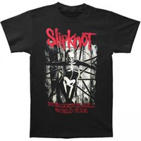 Slipknot Skeleton T-shirt - Slipknot - S - Artists/Groups - Rockabilia