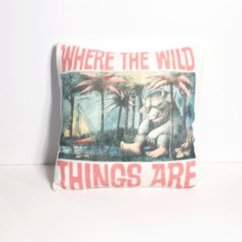 Where the Wild Things Are Pillow
