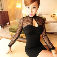 Yours Truly Lace Dress
