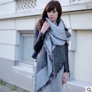 Fashion Top Blanket Scarf Female Cashmere Pashmina & Wool Scarf Shawl for Women 3colors