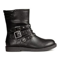 H&M Studded Boots $29.99