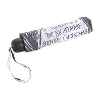 The Nightmare Before Christmas Jack & Sally Compact Umbrella