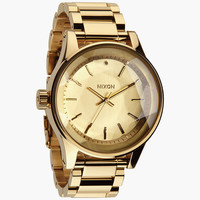Nixon The Facet Watch Gold One Size For Women 24408362101