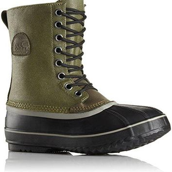Sorel Men's 1964 Premium T Cvs Snow Boot, Green, 11 D US