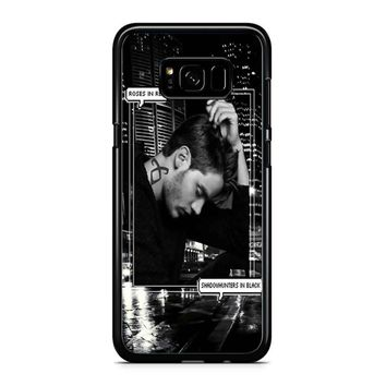 Alec Lightwood Shadowhunters In Black Samsung Galaxy S8 Plus Case