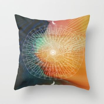 Good Life Throw Pillow by Ducky B