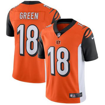 Men's Cincinnati Bengals A.J. Green Nike Orange Vapor Untouchable Limited Player Jersey