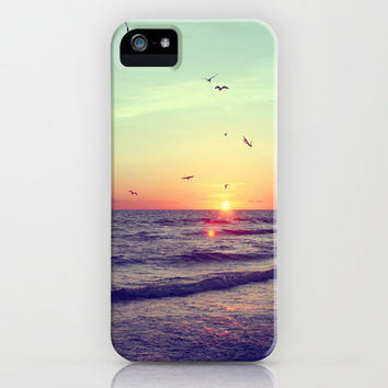 Siesta Key Sunset iPhone Case by CAPow! | Society6