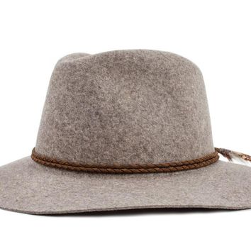 Brixton - Howell Fedora | Black Heather