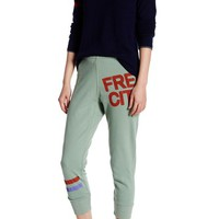 Free City | Varsity Stripe Logo Sweat Pant | Nordstrom Rack