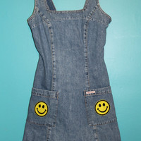 90's Vintage Guess Denim Mini Dress
