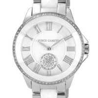 Vince Camuto Ceramic & Steel Pyramid Bracelet Watch, 38mm (Online Only)