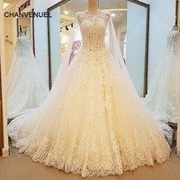 LS32580 special wedding dresses lace ball gown corset back wedding gowns 2017 robe de mariage real photos china online wholesale