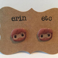 Handmade Plastic Fandom Earrings - Game of Thrones - Tyrion Lannister