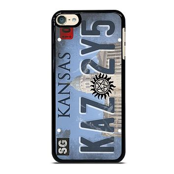 SUPERNATURAL LICENSE PLATE CUSTOM iPod 4 5 6 Case