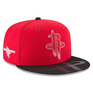 Men's Houston Rockets NBA18 All Star Game On Court Collection 9FIFTY Snapback Hat By New Era