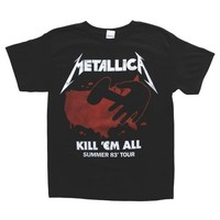 Metallica - Kill Em All 83 Tour T-Shirt