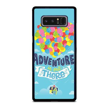 ADVENTURE IS OUT THERE UP Samsung Galaxy Note 8 Case Cover