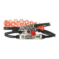 Sleeping With Sirens Bracelet 4 Pack