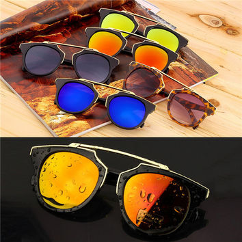 Super Star Fashion Sunglass  For Women brand designer vintage (multi colors)