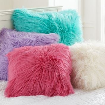 Fur-rific Pillow Cover