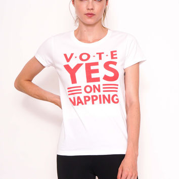 Vote Yes on Napping Tee