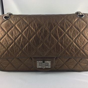 Chanel Reissue 227 Bronze Tasche Bag