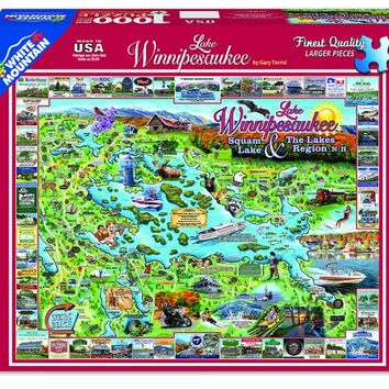 Lake Winnipesaukee New Hampshire- 1000 Piece Jigsaw Puzzle
